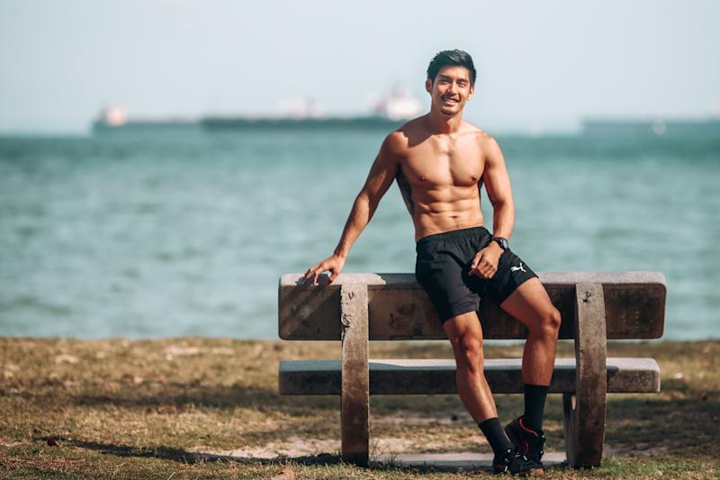 Singapore #Fitspo of the Week: Robin Tiang. (PHOTO: Cheryl Tay)