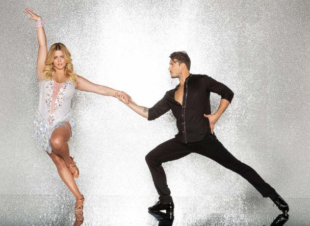 PHOTO: Sasha Pieterse and pro dancer Gleb Savchenko will compete for the mirror ball title on the new season 'Dancing With The Stars.' (Craig Sjodin/ABC)
