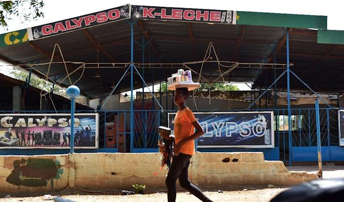"""Fada N'Gouma's local authorities have buckled under the pressure and closed five popular bars """"for security reasons"""" (AFP Photo/ISSOUF SANOGO)"""