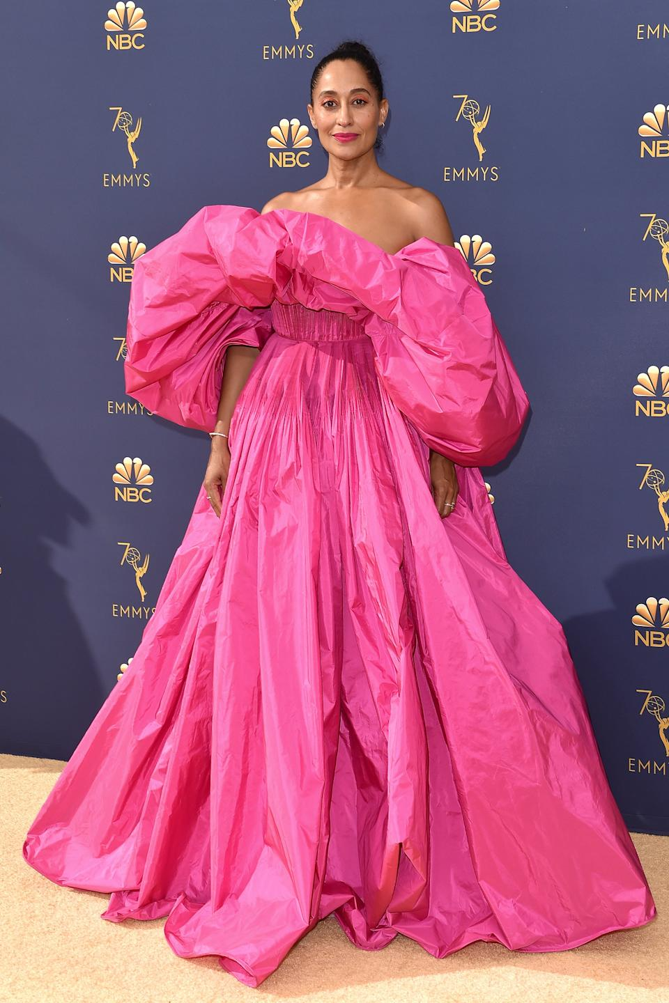 """<h2>Tracee Ellis Ross in Valentino, 2018</h2><span class=""""copyright"""">Photo: Axelle/Bauer-Griffin/FilmMagic.</span>"""