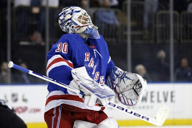 NHL: Vegas Golden Knights at New York Rangers