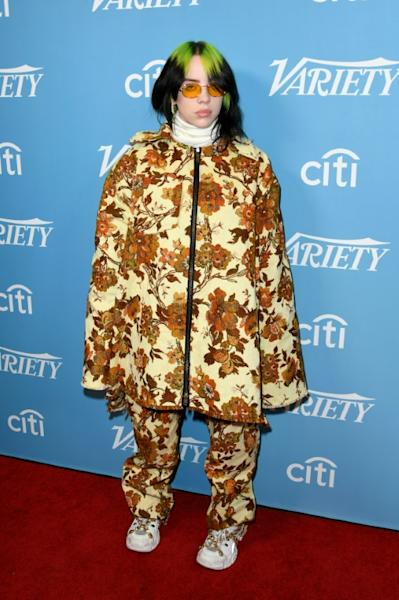 Pop superstar Billie Eilish is among the artists in recent years to go viral on SoundCloud, a DIY platform geared toward discovery of new artists (AFP Photo/Jon Kopaloff)
