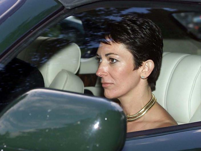 Ghislaine Maxwell pictured in September 2000Chris Ison/PA