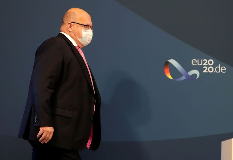 German econ forecasts solid as long as coronavirus contained: Altmaier