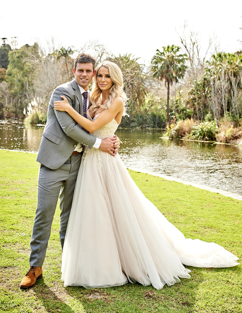 Stacey and Michael's wedding shot from Married at First sight