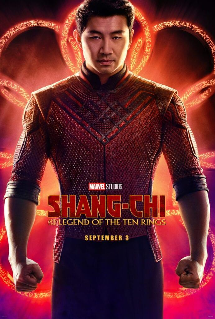 Shag-Chi and the Legend of the Ten Rings Poster Simu Liu