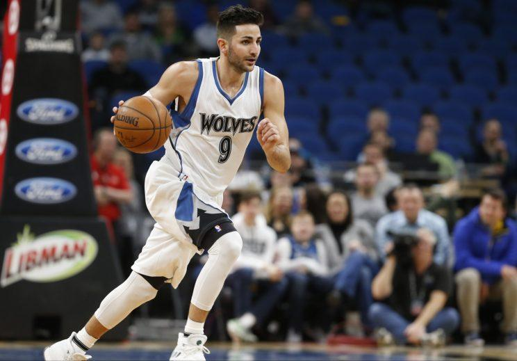 Ricky Rubio is in his sixth season with the Timberwolves. (AP)