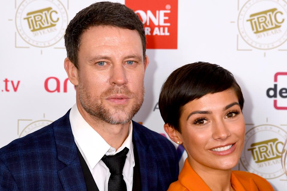 LONDON, ENGLAND - MARCH 12: Wayne Bridge and Frankie Bridge attend the 2019 'TRIC Awards' held at The Grosvenor House Hotel on March 12, 2019 in London, England. (Photo by Dave J Hogan/Dave J Hogan/Getty Images)