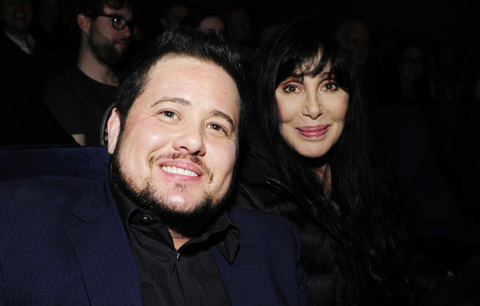Chaz Bono with his mother, Cher (Photo by Amy Graves/WireImage)