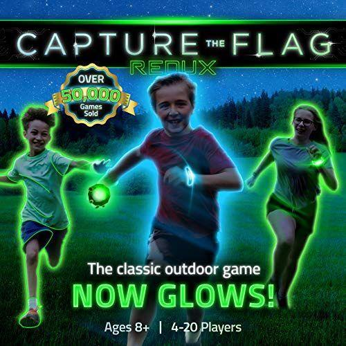 "<p><strong>Capture the Flag</strong></p><p>amazon.com</p><p><strong>$49.90</strong></p><p><a href=""https://www.amazon.com/dp/B00XK9C4H0?tag=syn-yahoo-20&ascsubtag=%5Bartid%7C2089.g.1557%5Bsrc%7Cyahoo-us"" rel=""nofollow noopener"" target=""_blank"" data-ylk=""slk:Shop Now"" class=""link rapid-noclick-resp"">Shop Now</a></p><p>Add a little friendly competition to your home with this glow-in-the-dark Capture the Flag set — a must-have for birthdays or family reunions. All 33 pieces light up, putting an <em>Avatar-</em>like spin on a classic lawn game. </p>"
