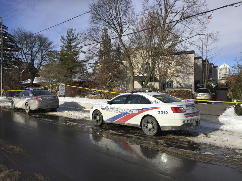 Toronto police release cause of death of billionaires