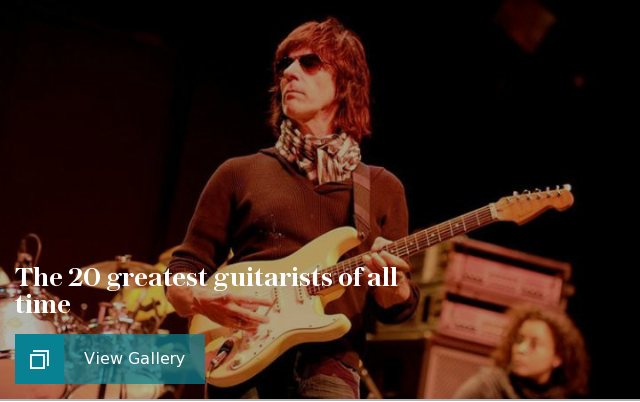 The greatest guitarists of all time, in pictures