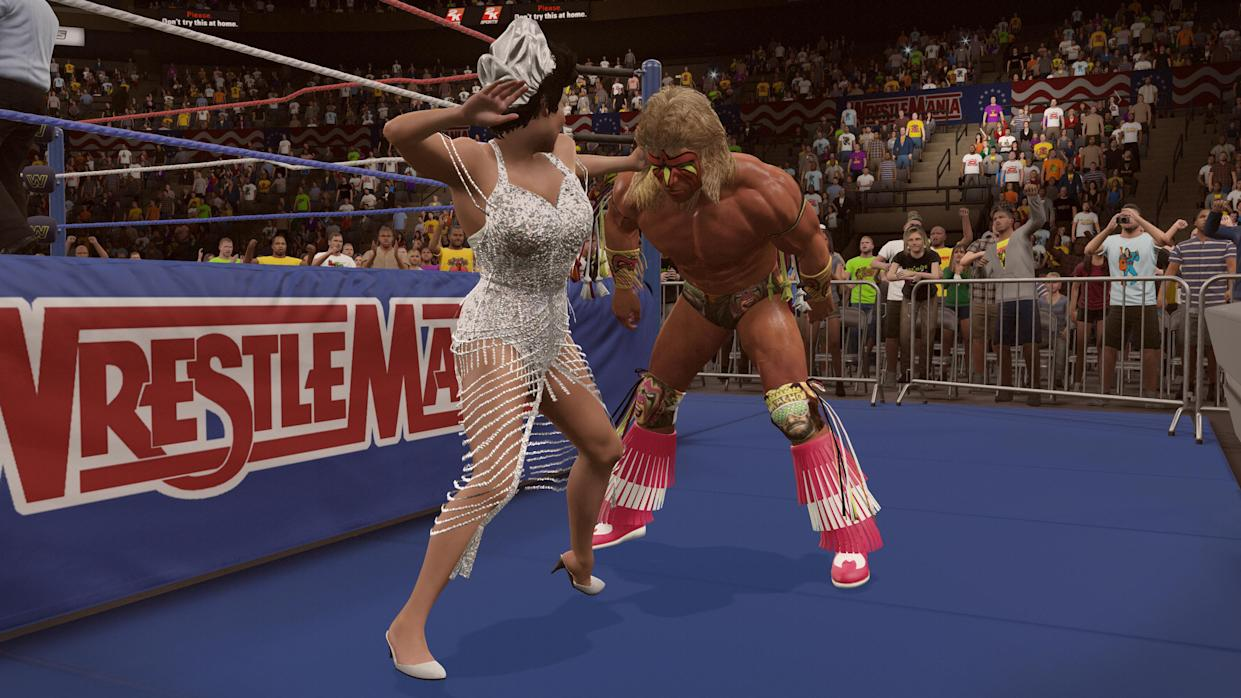 WWE 2K15's Next DLC Out Now, Honors Ultimate Warrior