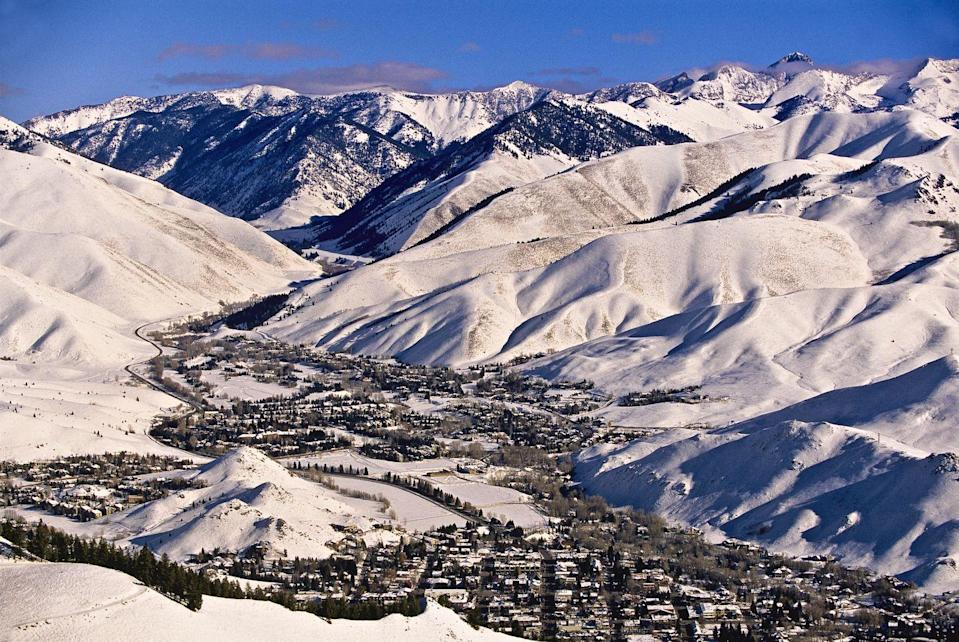 """<p>These neighboring towns boast some epic skiing and make for such a great vacation spot that celebs like Marilyn Monroe, Lucille Ball used to visit and Oprah Winfrey, Tom Hanks and Bill Gates have all had homes there. During your visit, make sure to try Nordic skiing as Sun Valley is dubbed """"Nordic Town USA"""".</p>"""