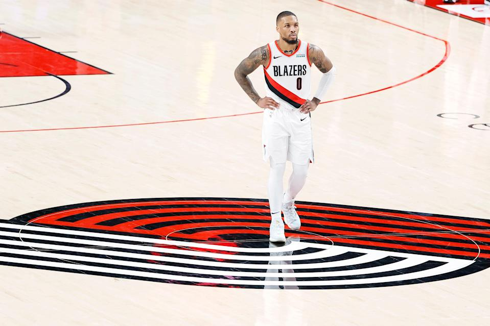 Damian Lillard has made the playoffs eight times with the Blazers, but they have five first-round exits.