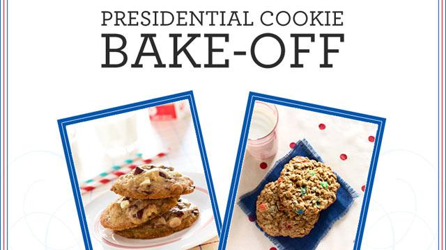 Presidential Cookie Bake-Off: Obama vs  Romney