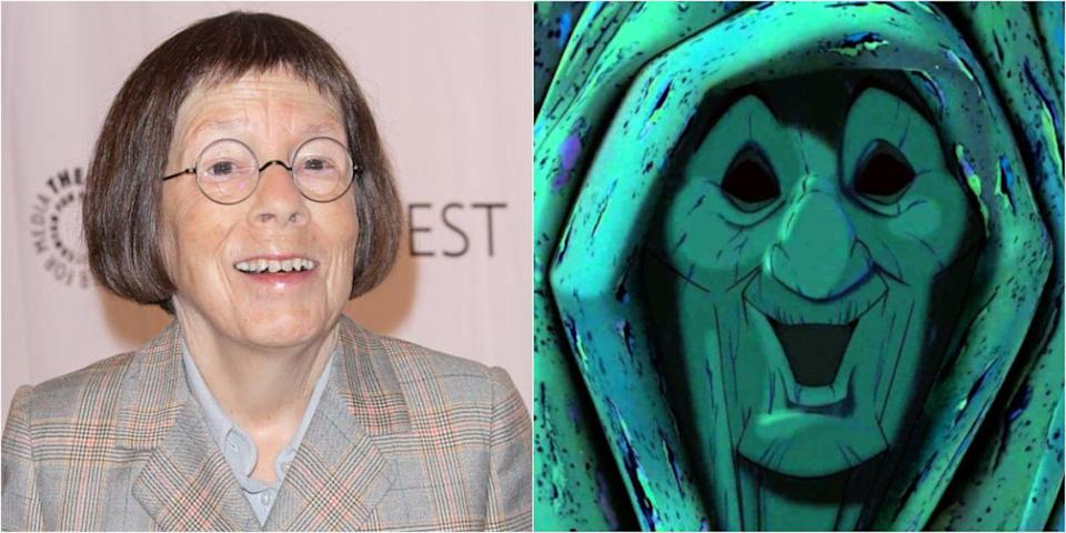 <p>Linda Hunt has lent her voice to numerous works including <em>Solo: A Star Wars Story</em>, but perhaps one of her most iconic animated roles is Grandmother Willow, who Pocahontas turns to for wisdom and advice.</p>