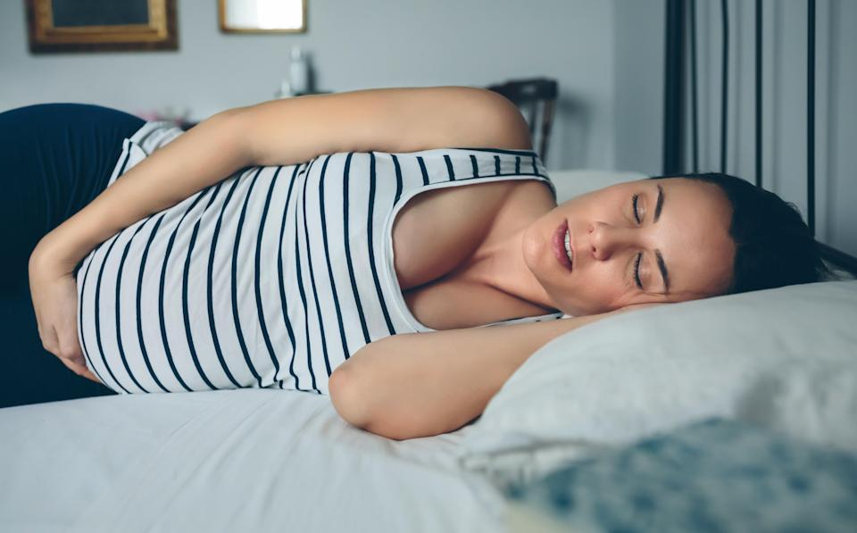 What causes pregnant women to have such funky dreams? [Photo: Getty]