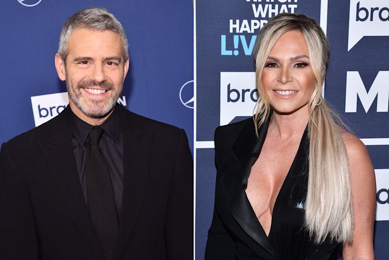 Andy Cohen and Tamra Judge | Charles Sykes/Bravo/NBCU Photo Bank via Getty
