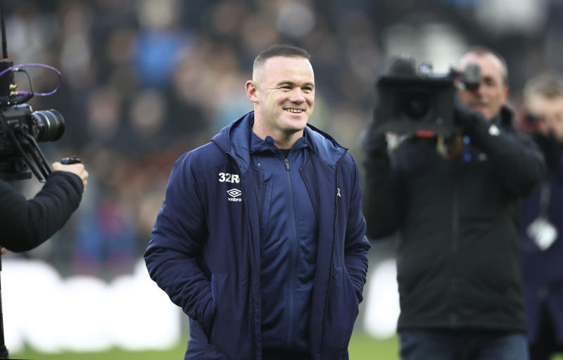 Rooney begins player-coach stint at Derby County