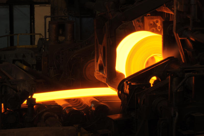 Rolled steel manufacture