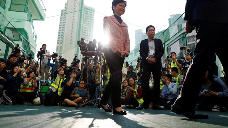 Hong Kong votes in highest turnout ever