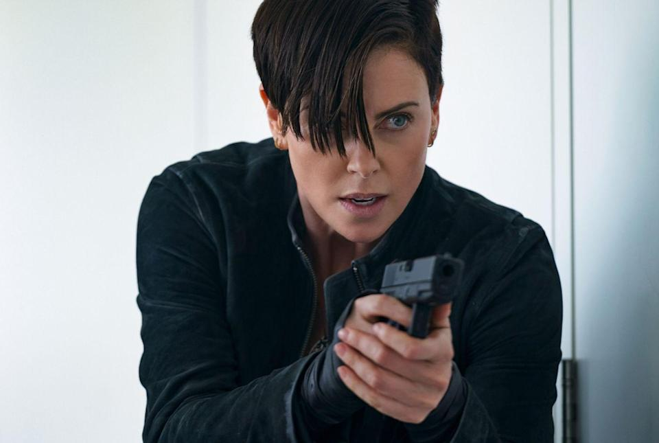 <p>This character is a nice mix between Theron's roles as Furiosa in <em>Mad Max: Fury Road</em> and Lorraine in <em>Atomic Blonde</em>, with a touch of sadness and empathy.</p>