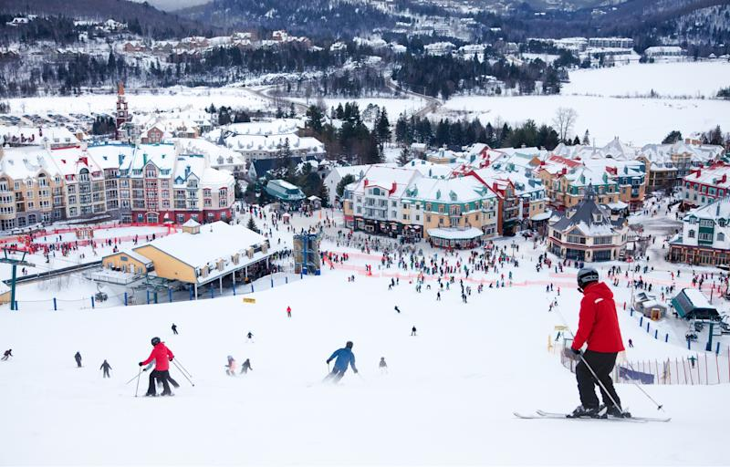 Mont-Tremblant, Quebec, is a great affordable ski vacation