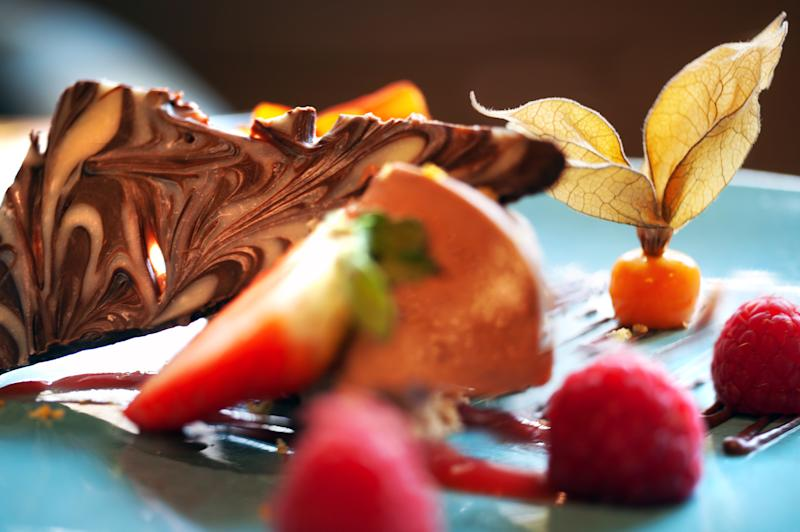 A dessert at the Kingslodge [Photo: Visit County Durham]