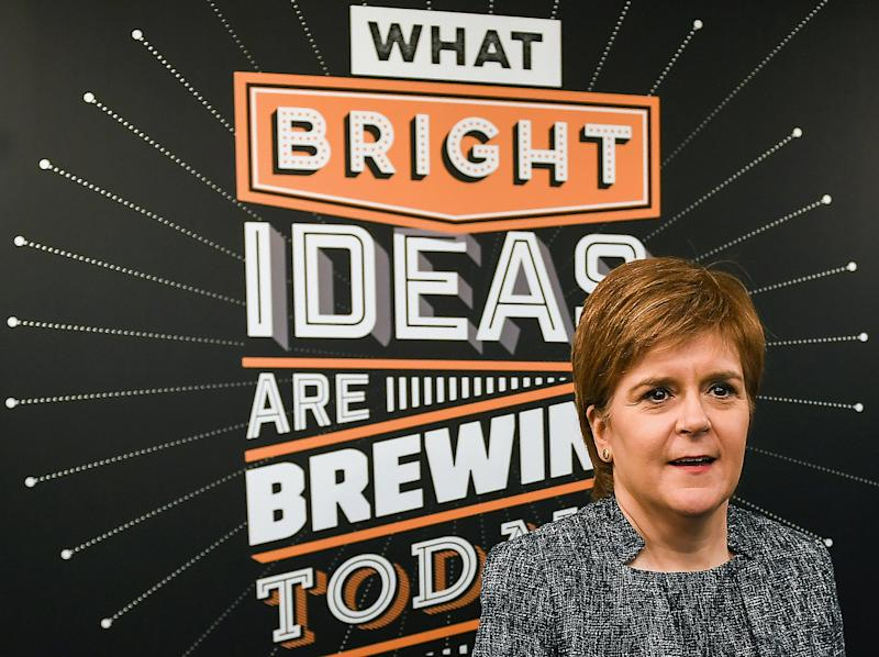 <strong>Scotland's First Minister and leader of the SNP Nicola Sturgeon</strong>