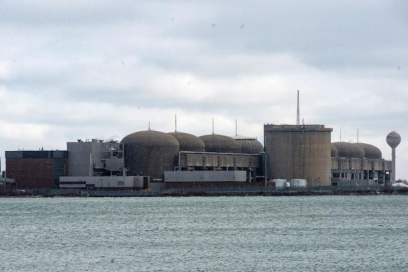 The Pickering Nuclear Generating Station, in Pickering, Ontario