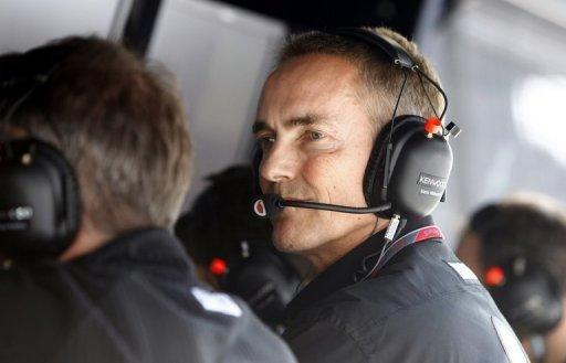 Martin Whitmarsh said F1 may find the going tougher in the US, where F1 will be competing with other motorsports