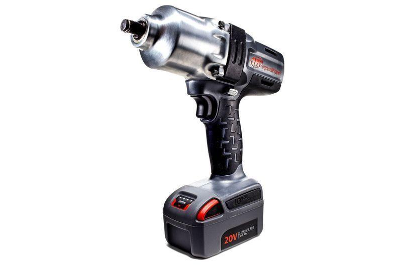 """<p><strong>Ingersoll Rand</strong></p><p>amazon.com</p><p><strong>$472.03</strong></p><p><a href=""""https://www.amazon.com/dp/B006GFQMAU?tag=syn-yahoo-20&ascsubtag=%5Bartid%7C10060.g.2028%5Bsrc%7Cyahoo-us"""" rel=""""nofollow noopener"""" target=""""_blank"""" data-ylk=""""slk:Buy Now"""" class=""""link rapid-noclick-resp"""">Buy Now</a></p><p>• Power: 20-V<br>• Drive size: ½-in.<br>• Motor: Brushless<br>• RPM: 1,900<br>• IPM: 2,300<br>• Torque: 780 ft-lb<br>• Battery: 3-Ah (x2)<br><br>Ingersoll Rand was building air wrenches decades before other companies even considered battery-operated power tools. It shows in this light but heavy-duty model.</p>"""