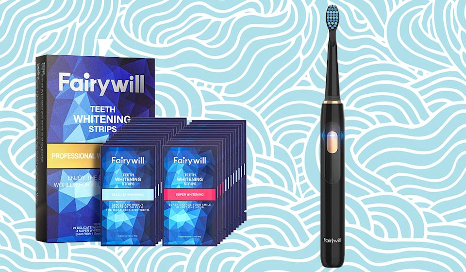Fairywill toothbrushes give you a Hollywood smile on a budget. (Photo: Getty Images)