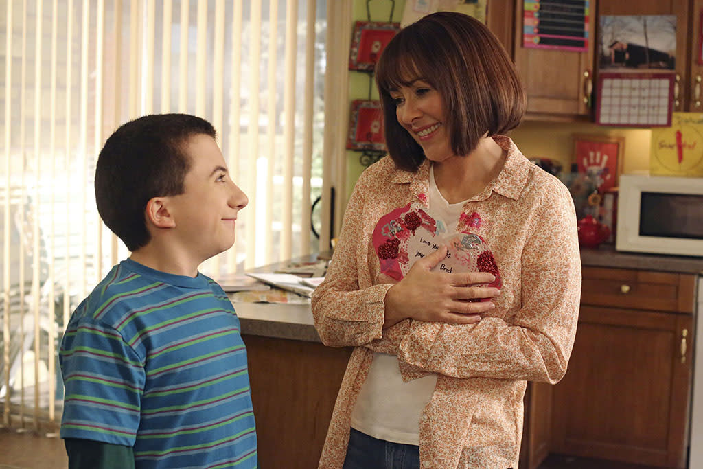 """""""The Middle""""""""Valentine's Day IV"""" airs Wednesday, 2/13 at 8 PM on ABCAs Valentine's Day approaches, Axl takes Boss Co., with partners Sean and Darrin, to the next level by offering their services to help guys break up with their girlfriends. Meanwhile, Brick becomes upset with Frankie when he discovers that she has thrown out all of the school artwork he has made over the years, Sue is thrilled when ex-boyfriend Matt invites her to the school's Valentine's Day dance, and Mike accidentally sends a romantic text meant for Frankie to a co-worker at the quarry."""