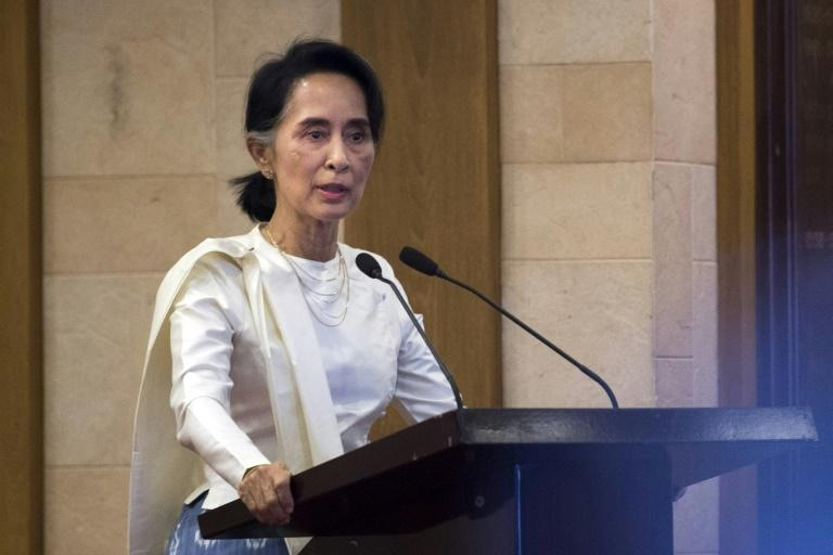 Aung San Suu Kyi has denied the ethnic cleansing of Myanmar's Muslim minority, speaking to the BBC after the UN rights council agreed to investigate allegations against the army