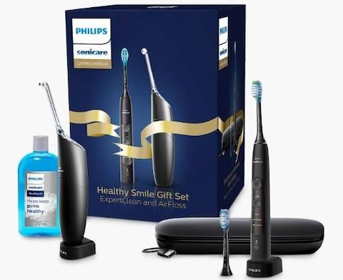 Philips Sonicare Healthy Smile Gift Set with ExpertClean and Airfloss Pro