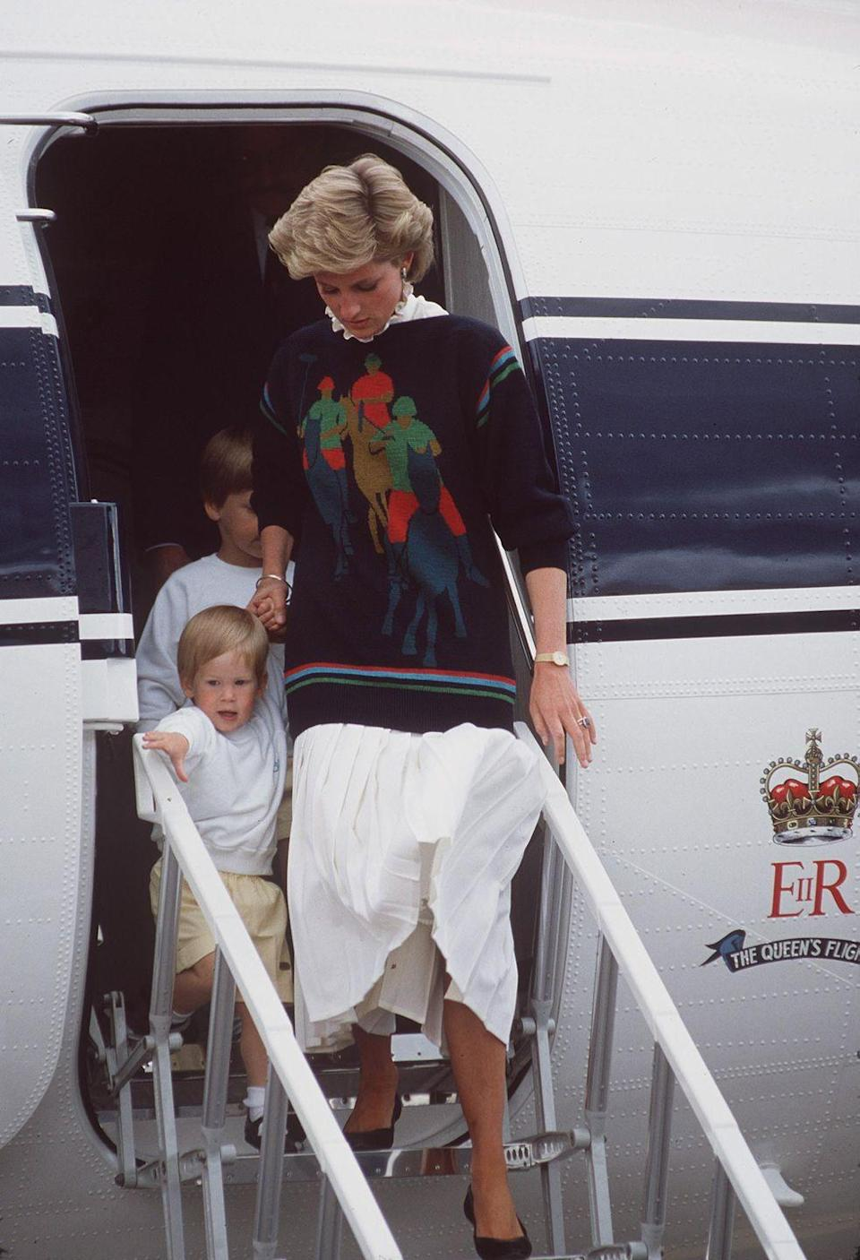 <p>Diana was never as into extremely British sports the way her husband was, but wearing polo sure does seem more enjoyable than watching it. (Sorry.) (Not sorry.)<br></p>