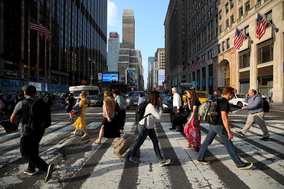 Interest in trips to New York surged following the announcement by the White House (Nick Potts/PA) (PA Archive)