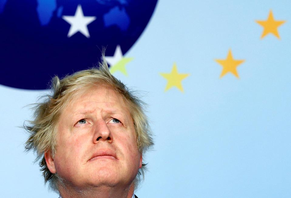 """<em>'Crucial' – Boris Johnson said the UK's relationship with the United States is """"crucial"""" (Picture: Reuters)</em>"""