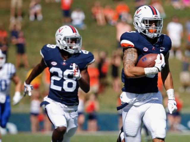 Powered by its defense, UVa pulls ahead and hangs on for 28-21 win