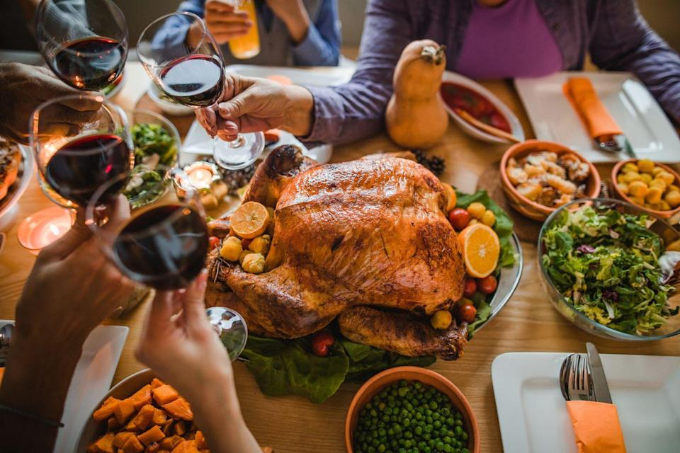 "<p>Oregonians are big on a full turkey dinner for Christmas, regardless of having just done one for Thanksgiving—do I have to tell you why that's so iconic?</p><p>Get the <a href=""https://www.delish.com/holiday-recipes/thanksgiving/a55338/best-oven-roast-turkey-recipe/"" rel=""nofollow noopener"" target=""_blank"" data-ylk=""slk:recipe"" class=""link rapid-noclick-resp"">recipe</a>.</p>"