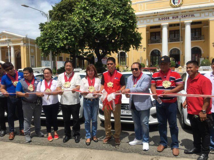 LTFRB Launches First Taxi Services in Ilocos