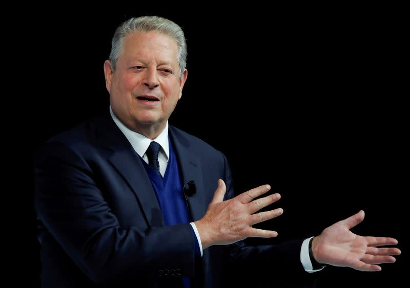 Former U.S. VP Gore says Trump is putting 'knee on the neck of democracy'