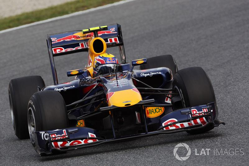 "2010: Маrk Webber, Red Bull-Renault RB6<span class=""copyright"">Sutton Motorsport Images</span>"