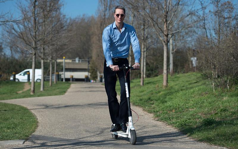 E-scooter rental: where can I hire one in the UK? - Eddie Mulholland/The Telegraph