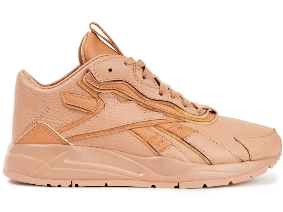 REEBOK X VICTORIA BECKHAM Bolton pebbled-leather sneakers
