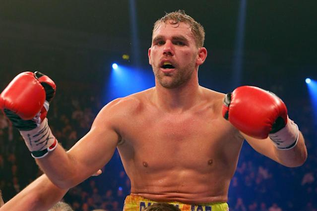 London fight? Plans for a fight between Billy Joe Saunders and Gennady Golovkin could be finalised this week: Getty Images