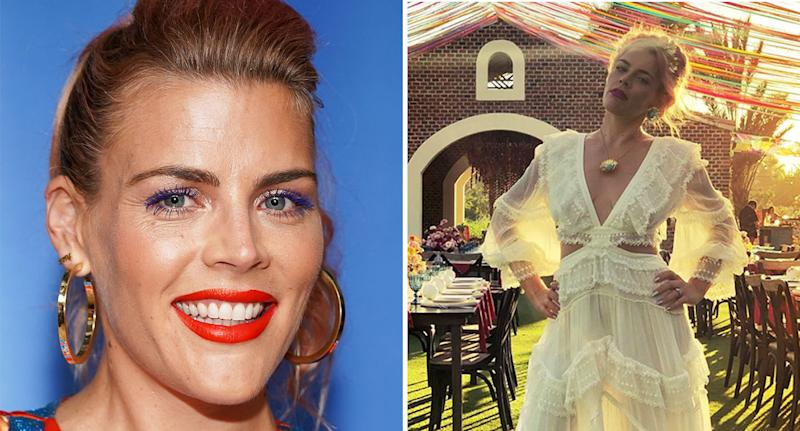 Busy Philipps threw a wedding-style party for her 40th. [Photo: Getty/Instagram]