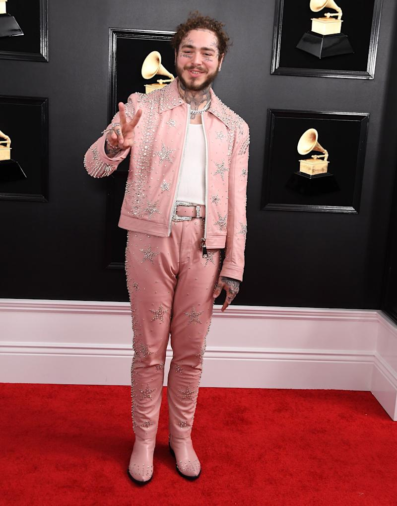 Post Malone at the Grammys